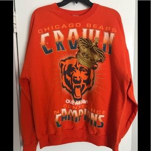 Vintage Chicago Bears Sweater Mens Size XL